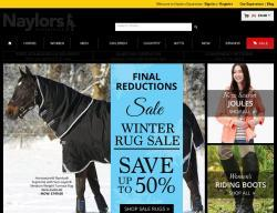 Naylors Equestrian Discount Codes