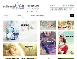 The Personalised Gift Shop Voucher Codes