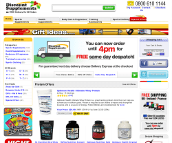 Discount Supplements Discount Codes