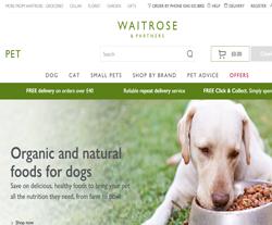 Waitrose Pet Discount Codes
